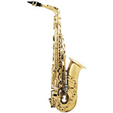 Saxofon Alto Orich  Grado Profesional, Estuche Y Accesorios
