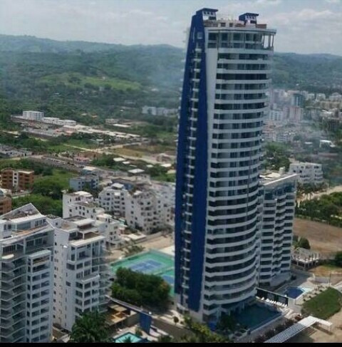 Departamento Tonsupa Grand Diamond Beach Vista Al Mar