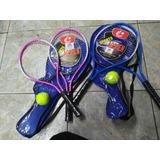 Raqueta De Tennis Para Niño Por Dos Incluye Una Pelota De Te
