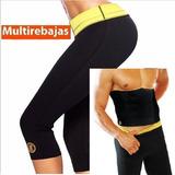 Original Pantalon Licra Hot Shaper Toda Talla M L Xl Xxl