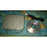 Consola Play1 + Cable Audio Y Video + 4cds De Juegos