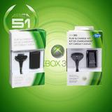 Bateria + Cargador Para Xbox 360!!!!!!!!!