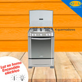 Cocina Mabe A Gas 4 Q. Grill 60 Cm Encend Electrico 6060ex1