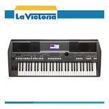 Sintetizador Digital Yamaha Psr-s670, Adaptador Gratis