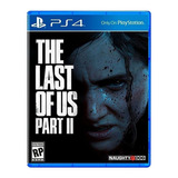 The Last Of Us Part 2 Ps4 Físico Sellado + Poster & Dlc!!