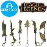 Llaveros Metálicos Armas League Of Legends Lol