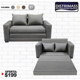 Mueble Sofa Cama Grande Importado De Varios Colores