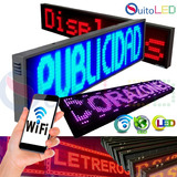 Letreros Led Programables  Rótulos Led- Wifi - Quitoled