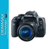 Camara Canon Rebel T6i Kit Lente 18-55mm Nuevas Iva Incluido