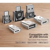Adaptador  Usb Tipo C Otg Micro Usb A Tipo C/tipo C A Usb 2