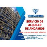 Alquiler De Andamios Altos Y Nuevos¡¡¡