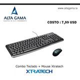 Combo Teclado + Mouse  Xtratech
