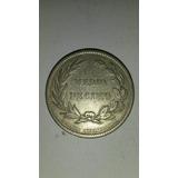 Moneda Decimal Ecuador! Medio Decimo 1884 Heaton Birmingham