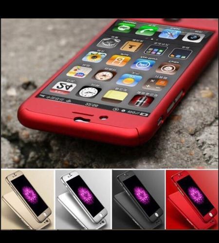 49360a4fb59 Case 360+mica De Vidrio-seguridad 100% Iphone 5/5s/6/6s/7