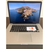 Apple Macbook Pro Retina 15   I7  2.2ghz 16gb 128gb Ssd