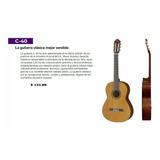 Guitarras Yamaha C40 - Cx40 Incluye Iva Y  Karaoke De Regalo