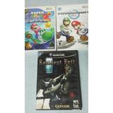 Juegos Wii Gamecube Mario Galaxy 2 Kart Resident Evil