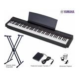 Piano Digital Yamaha P-125 / 88 Teclas / Nuevos Y Sellados