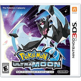 Pokemon  Ultra Moon Nintendo 3ds/disco/sellado