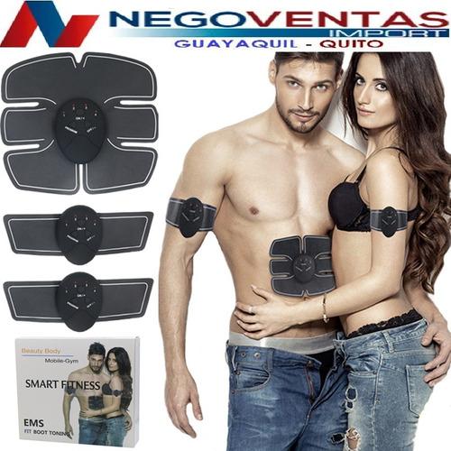 Ejercitador Abdominal Brazos Piernas Smart Fitness 3 En 1