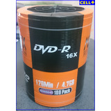 Dvd-r Matrix 16x 4.7 Gb Torre X 100 Unidades