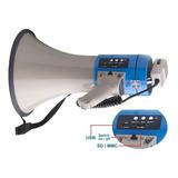 Megafono Perifoneo Usb Sd Mp3 Sirena  Marca England Audio