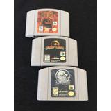 Colección Nintendo 64 Mortal Kombat Trilogy 4 Subzero
