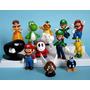 Set Con 12 Muñecos De Colección Mario Bros Yoshi Luigi Y Más