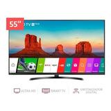 Tv Lg Smart 4k 55 Um7470 2019 Magic Control Y Soporte Gratis