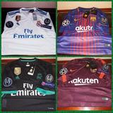 Camisetas Champion Real Madrid Barcelona 2017-2018 Original