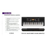Organo Yamaha Psre 363 Incluye Adaptador  Karaoke De Regalo