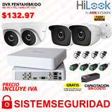 Kit 4 6 8 16 Camaras Seguridad Cctv Hd 720p  Hd 1080p Hilook