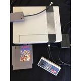 Nintendo Americano Con Palanca Cables Juego Mario