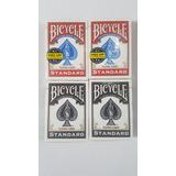 Naipes Cartas Bycicle Rojo Negro Barajas