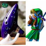 Ocarina Legend Of Zelda Cerámica 15x10x5 Cm Viene En Caja