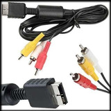 Cable Av De Audio Y Video Para Play Station Ps1 Ps2 Ps3 Ypt