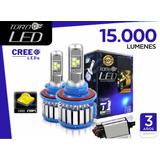 Focos Luces Turbo Led Original (15.000 Lumens) H1,h3,h4,h7..