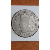 Moneda Antigua, Cundinamarca, Sin Resello Mdq. Colombia,1821
