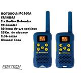 2 Radios Walkie Talkie Motorola Mg160a 25km 22 Canales