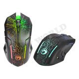 Mouse Gamer Marvo M207 6 Teclas Luz Led Usb 3200 Dpi