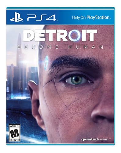 Detroit Become  Human Ps4 Play 4 Fisico Entrega Inmediata