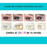 Lentes De Contacto De Color, Cambia El Color De Tu Mirada!