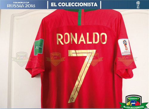664e2d90e70f7 Camiseta Selección Portugal Ronaldo Mundial Rusia Bajo Pedid