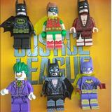 Figuras Grandes 15cm Legos  Batman Guason Robin Batgirl