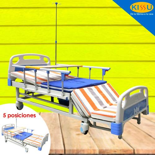 Cama Hospitalaria Proel G4 Manual Urinario Baranda Varias Po