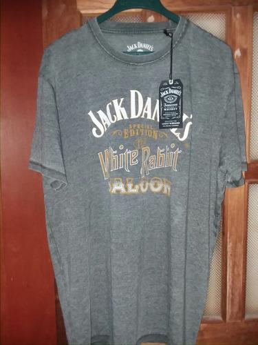 d0dd9f77ce Camiseta Jack Daniels Hombre Tallas X - X L Producto Oficial