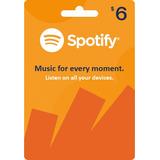 Spotify Tarjeta De Regalo Premium 1 Mes