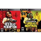 Red Red Redemption + Undead Nightmare Dlc - Ps3 - Digital