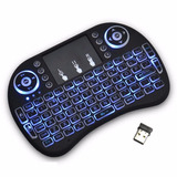 Teclado Smart Tv Inalambrico Tv Box  Retroiluminado Touchpad