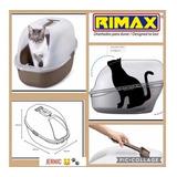 Arenero Gatos Plástico Marca Rimax